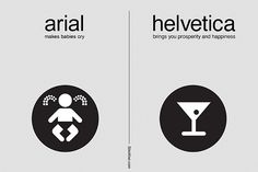 arial vs. helvetica: a simplified comparison for non-designers | Flickr - Photo Sharing!