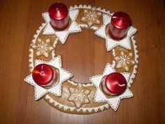 Gingerbread Cookies, Santa, Christmas Ornaments, Holiday Decor, Wafer Cookies, Little Cottages, Blue Prints, Christmas, Bakken