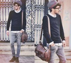 I don't like hipster... I just like my men super skinny with tight clothes?
