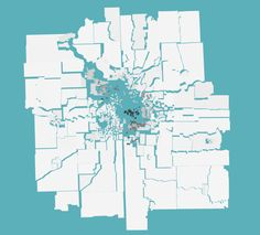 Maps Depicting Cities Fractured Along Racial Lines: An ongoing project visualizes segregation data in urban areas.