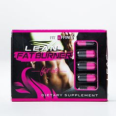 Fit Affinity Lean Fat Burner Dietary Supplement for Women - 15 Day Supply (30 Capsules)