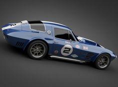 1964 grandsport corvette sports car 3d model max obj 3ds lwo lw lws mtl 6