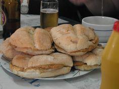 Bifanas de Porco à Portuguesa - Porco - Receita completa com ingredientes e preparação - MaisReceitas