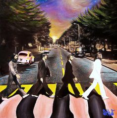 colorful abbeyroad