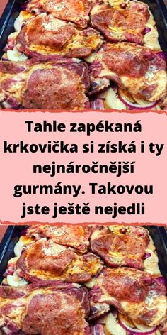 Czech Recipes, Food Humor, Funny Food, Food 52, A Table, Chicken Recipes, Pork, Food And Drink, Cooking Recipes