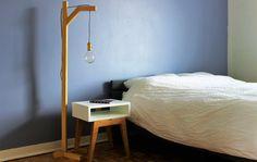 Comment fabriquer une table de chevet scandinave ep13 - Comment fabriquer une lampe de chevet ...