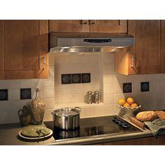 Broan QS230 Allure Series 30-inch Stainless Steel (Silver) Under Cabinet 300 CFM Range Hood (Stainless Steel) (Metal)