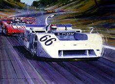 Extreme Machine The Sucker Car Chaparral 2J Art Giclée Pr...