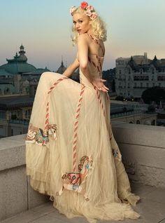 Alexander McQueen Carousel Dress