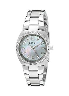 Fossil Women's AM4141 Serena Silver-Tone Stainless Steel Watch with Link Bracelet Fossil http://www.amazon.com/dp/B00178494W/ref=cm_sw_r_pi_dp_5NbWvb0TQP8NX