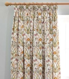 Buy The Chateau by Angel Strawbridge Potagerie Cotton Lined Pencil Pleat Curtains from the Next UK online shop Cream Curtains, Pleated Curtains, Lined Curtains, Curtain Patterns, Curtain Designs, Pattern Curtains, Curtain Ideas, Angel Strawbridge, Brighten Room