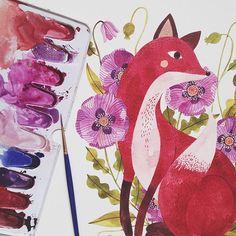 Oana Befort    oanabefort.com #watercolor