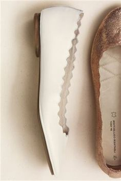 Buy Premium Scalloped Ballerina Shoes from the Next UK online shop