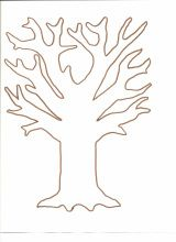 Apple Blossom Tree - this site has lots of templates/patterns