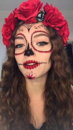 Halloween Eyes, Halloween Makeup Looks, Halloween Diy, Diy Makeup Looks, Haloween Makeup, Creepy Halloween Costumes, Creepy Clown, Halloween 2020, Halloween Halloween