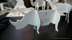JayKoo :: 내방의 작은 동물원 'good morning original calendar 2010 - ZOO'