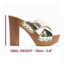 New Women& Platform Mules Block Peep Toes Slip On Shoes High Heel Clogs Platform Mules, Beautiful High Heels, Look Cool, Summer Shoes, Slip On Shoes, Wedding Shoes, Heeled Mules, Clogs, Fashion Shoes