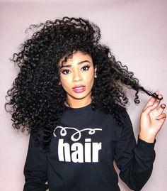 Natural Curly Hair                                                       …