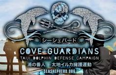These people for standing what they  (and others) believe in. Killing dolphins is not OK.  Thank you Sea Shepherd.