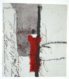 Karl Bohrmann(German, 1928-1998)    Rote Figur 1997