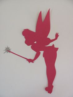 Set of Three 3 Tinkerbell Silhouettes for a by CraftyMarina, $36.00