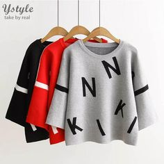 #aliexpress, #fashion, #outfit, #apparel, #shoes #aliexpress, #Women, #Fashion, #Letters, #Graph, #Sweater, #Female, #Casual, #Knitted, #Colors, #Short, #Pullovers, #Autumn, #Winter