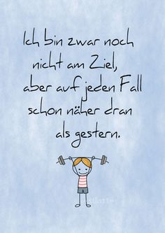 Noch nicht am Ziel, aber..., Lettering Card, Quote Art, Word Art, Statements, Zitate, Sprüche, Karten (Cool Quotes Motivation)