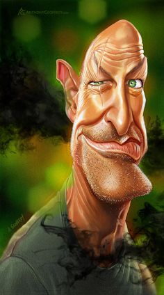 John Locke... Brilliant! FOLLOW THIS BOARD FOR GREAT CARICATURES OR ANY OF OUR OTHER CARICATURE BOARDS. WE HAVE A FEW SEPERATED BY THINGS LIKE ACTORS, MUSICIANS, POLITICS. SPORTS AND MORE...CHECK 'EM OUT!! Anthony Contorno Sr
