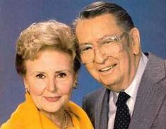 Alice and Tom Horton on Days of Our Lives  The orig matriarch/patriarch!!  Miss them both so much!!