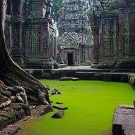 Places To Go, Ya Know... - Tah Prom Temple, Cambodia - #travel #honeymoon #destinationwedding