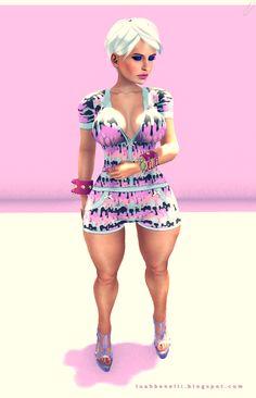 Moda no SL by Luah Benelli: Xxxtasi - New!!!