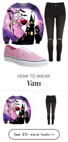 """Untitled #1038"" by pinkunicorn007 on Polyvore featuring moda, Vans y River Island"