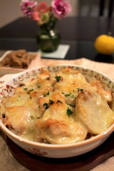 shokoの気ままな毎日 東山動植物園紅葉ライトアップ&海老芋のグラタン 海老芋の和風グラタン