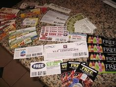 FOR MATT:)173 manufacturers that will send you coupons if you just email them.