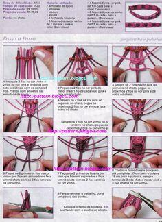 Macradabra: Como hacer una Pulsera con Nudo Plano