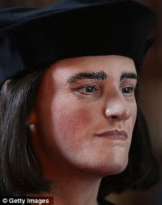 Richard III face reconstructed from 500 yr old skull