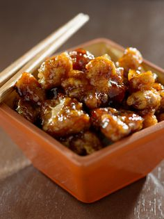 Paleo General Tso Chicken - really good - Tracey