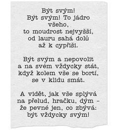 Být svým/Jaroslav Vrchlický