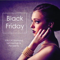 We have exclusive #BlackFriday deals on our beautiful diamond & pearl jewellery. Trade only. Offer starts Monday 13th November and ends 24th November. Email us at info@rawpearls.com for more info