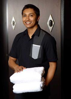 Primus Hotel Sydney | Dallen Corporate Shirts, Corporate Uniforms, Staff Uniforms, Hotel Uniform, Maid Uniform, Men In Uniform, Housekeeping Uniform, Uniform Ideas, Uniform Design