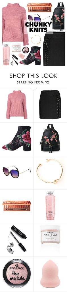 Get Cozy: Chunky Knits by dora04 on Polyvore featuring Boutique Moschino, Urban Expressions, Urban Decay, Bobbi Brown Cosmetics and Lancôme