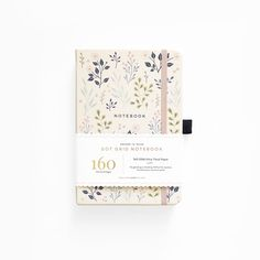 Pink Flowers Dot Grid Notebook from Archer and Olive now available in the UK. paper, suitable for all pens with no ghosting. Bullet Journal Layout, Bullet Journal Ideas Pages, Bullet Journals, The Notebook, Dot Grid Notebook, Journal Notebook, Journal App, Scrapbook Journal, Bujo