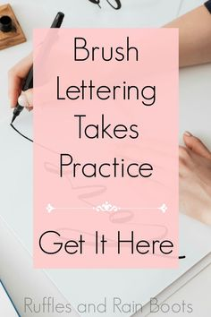 How to Learn Brush Calligraphy and Brush Lettering Brush Pen Calligraphy, Calligraphy Tutorial, Hand Lettering Tutorial, Brush Lettering, Brush Script, Creative Lettering, Creative Art, Hand Lettering For Beginners, Calligraphy For Beginners