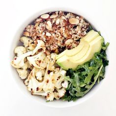Clean Food Dirty City - cauliflower coconut super grain bowl