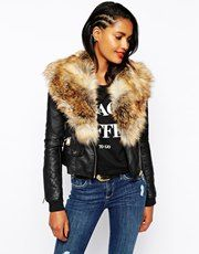 Women's leather jackets | Leather jackets & biker jackets | ASOS