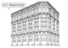 611 broadway by amazing James Gulliver Hancock