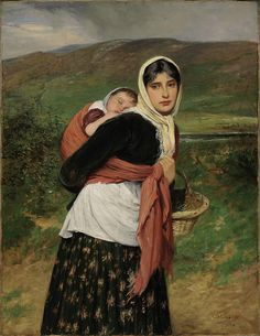 Returning from Marker, Charles Sillem Lidderdale