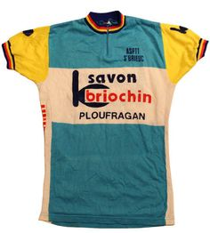 70's vintage cycle jersey made in France by SHOPakifuu on Etsy