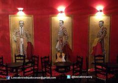 Graffiti, Murales, Decoracion de Interiores, Bar deCopas, Sevilla, Toreros