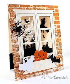 Dimensional Halloween Collage - KittieKraft